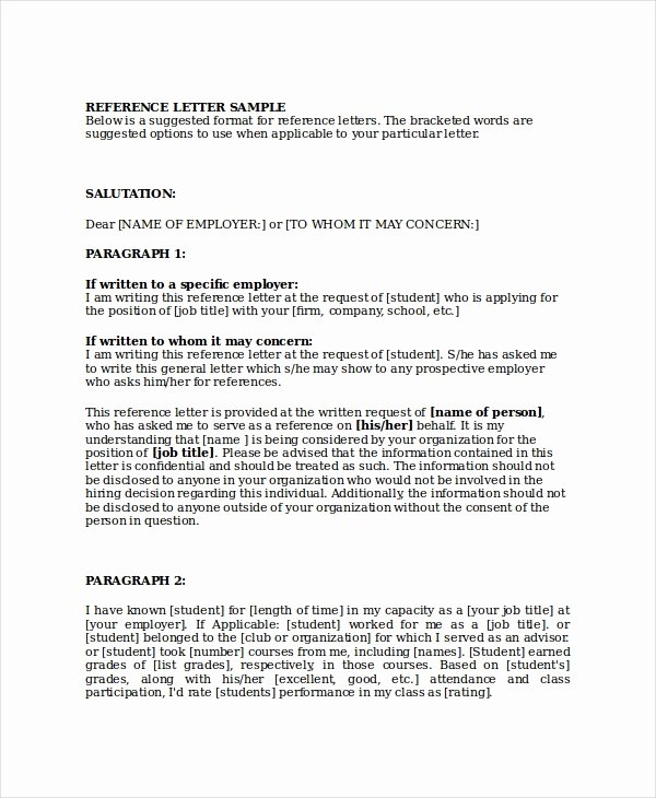 Business Reference Letter Template Luxury 10 Sample Business Reference Letter Templates Pdf Doc
