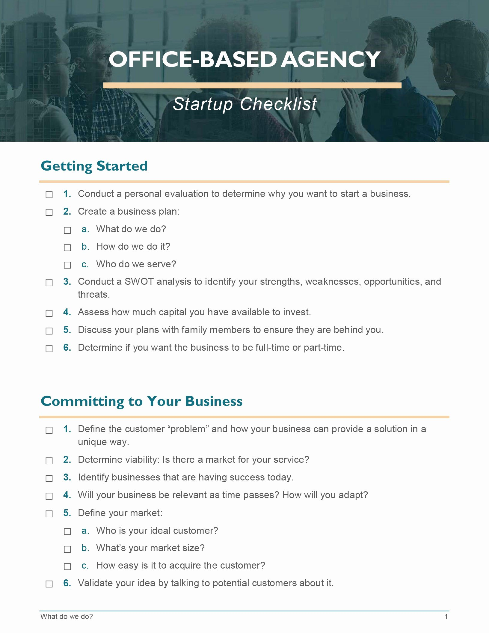 Business Startup Checklist Template Lovely Business Fice