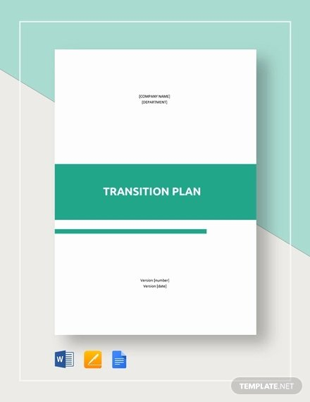 Business Transition Plan Template Fresh 9 Transition Plan Templates Free Word Pdf Documents