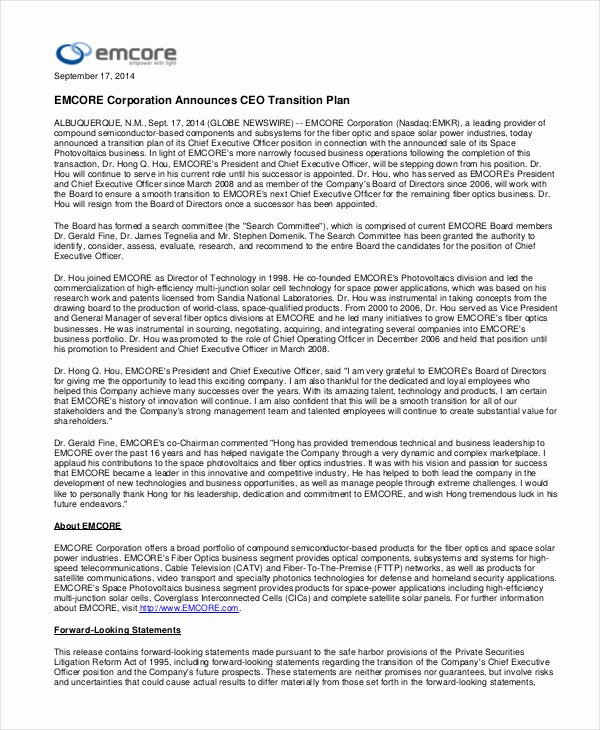 Business Transition Plan Template Lovely 8 Transition Plan Templates Word Pdf