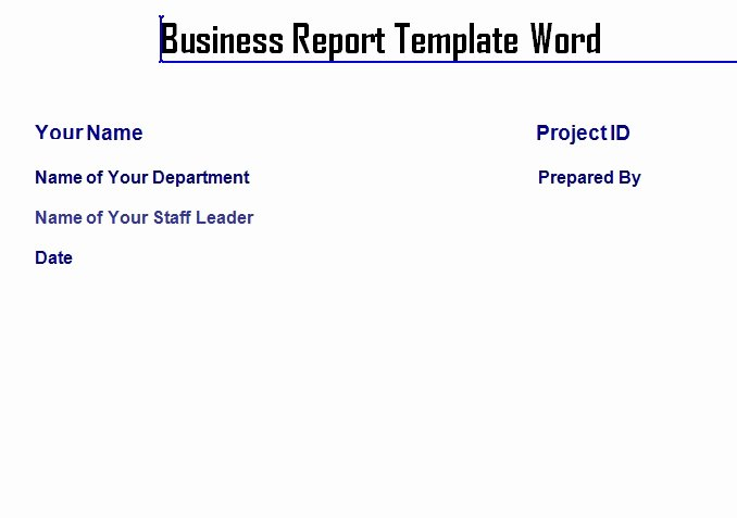 Business Trip Report Template Inspirational Weekly Project Status Report Template In Excel – Microsoft