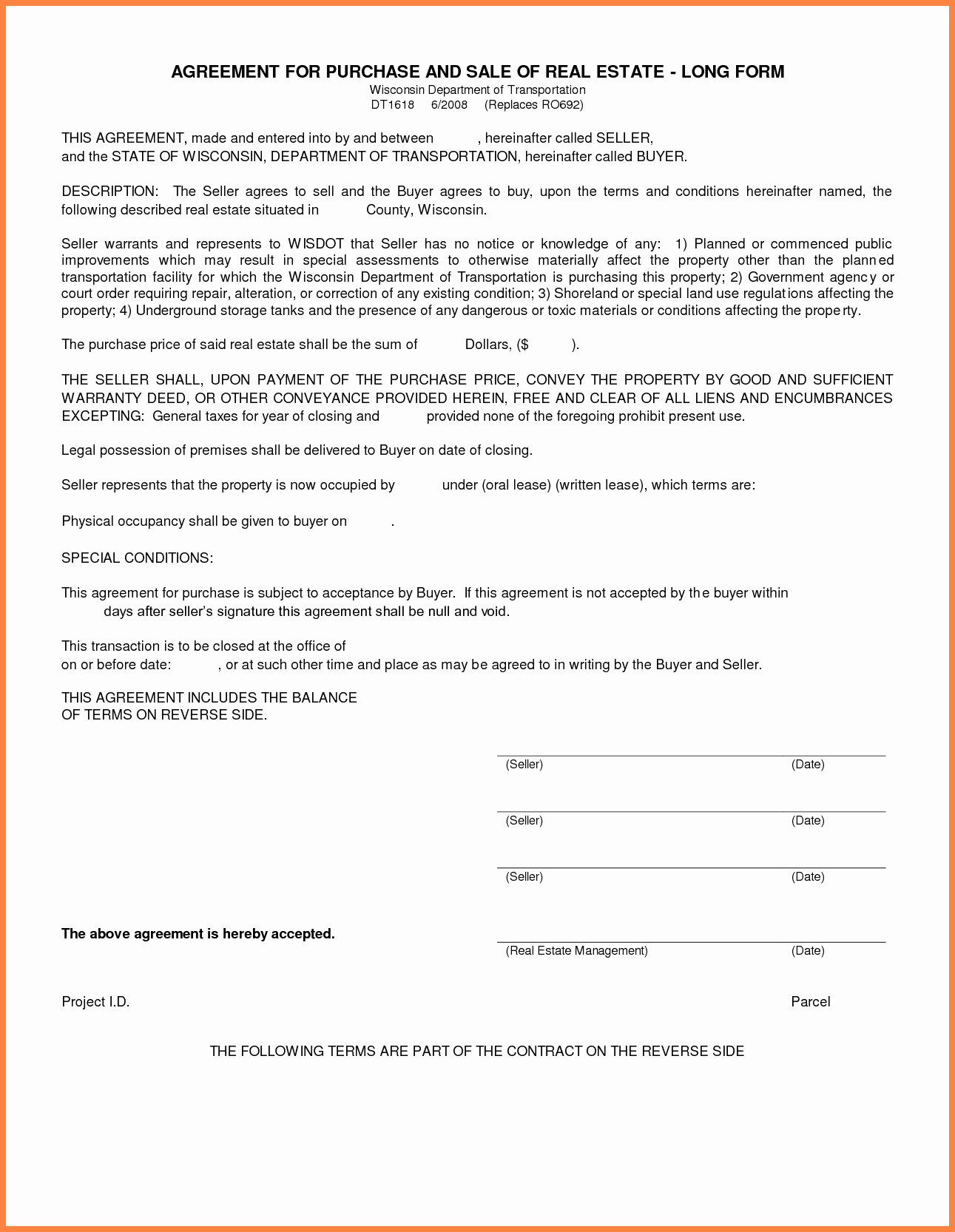 Buy Sell Agreement Template Awesome 3 Real Estate Sell Agreement Template