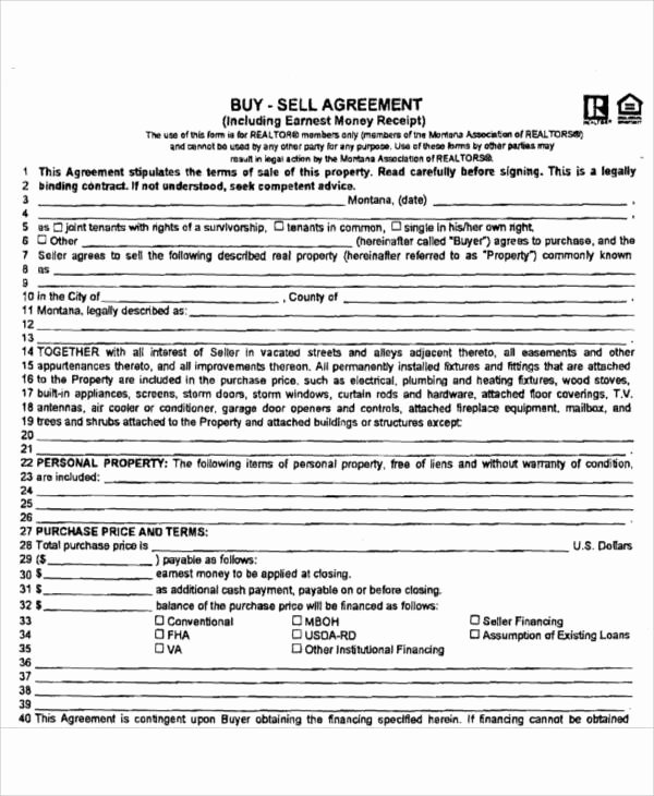 Buy Sell Agreement Template Beautiful Printable Agreement Samples