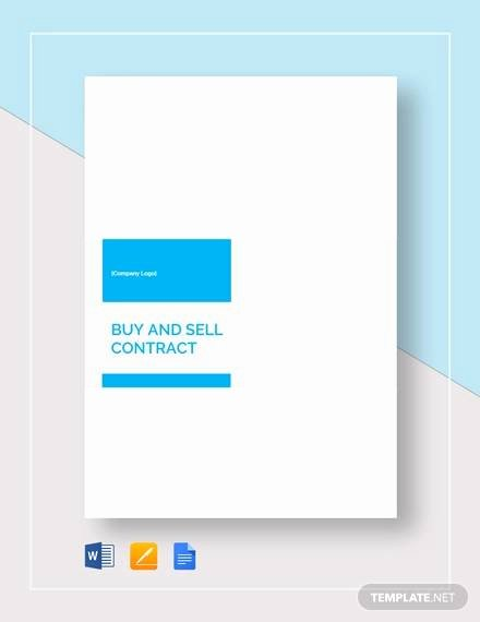 Buy Sell Agreement Template Lovely Free 20 Sample Buy Sell Agreement Templates In Word
