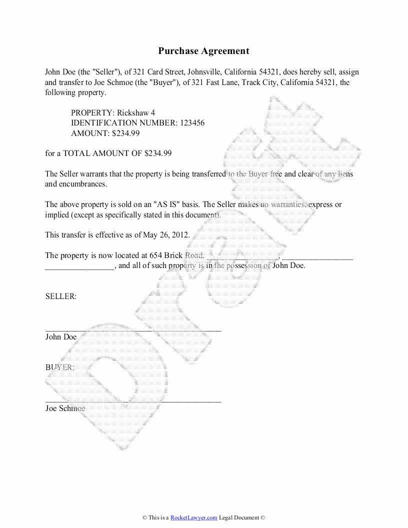 Buyout Agreement Template Free Best Of 35 Sample Home Buyout Agreement