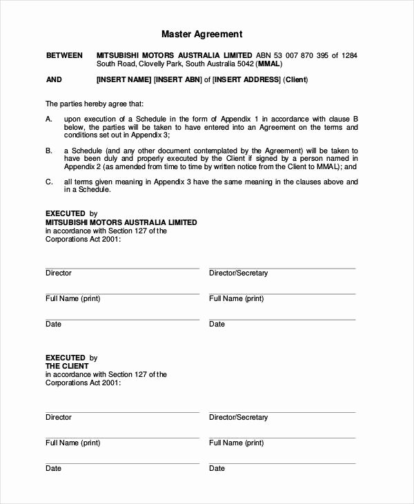 Car Lease Agreement Templates Awesome Vehicle Lease Agreement