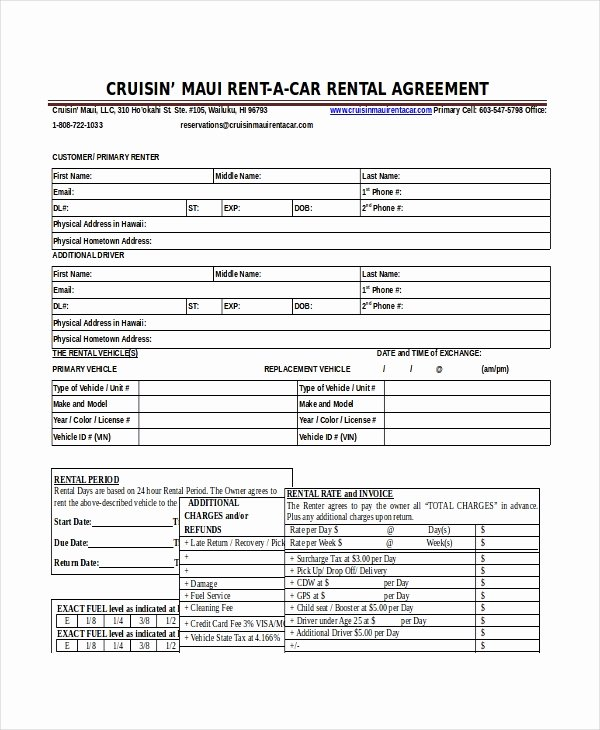 Car Lease Agreement Templates Lovely 18 Car Rental Agreement Templates Free Word Pdf Apple