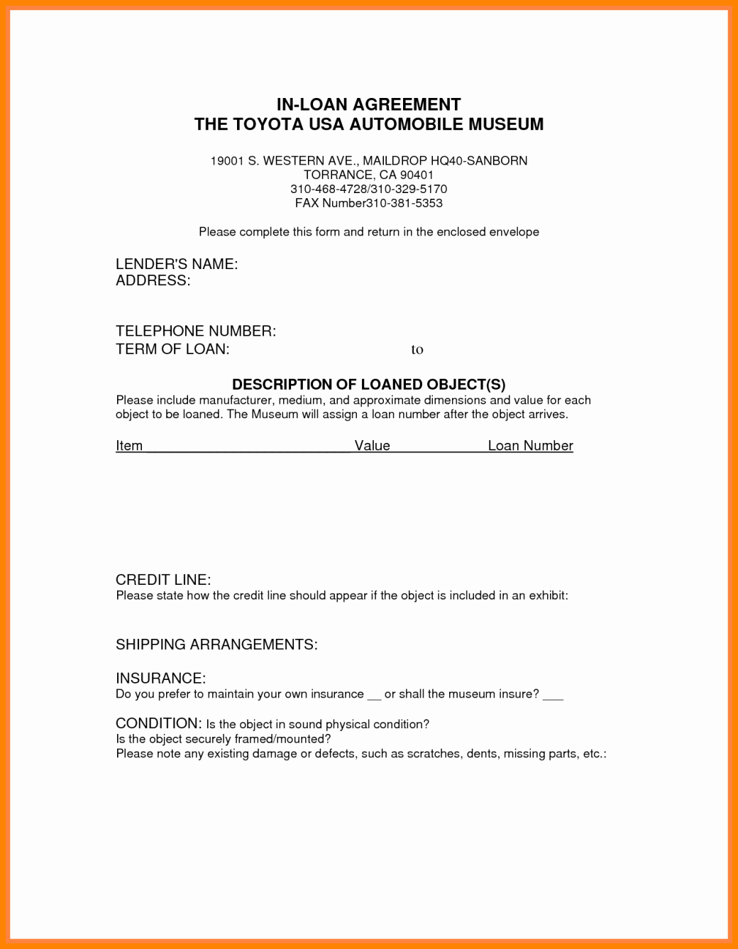 Car Loan Agreement Template Pdf Awesome 9 Take Over Car Payments Contract