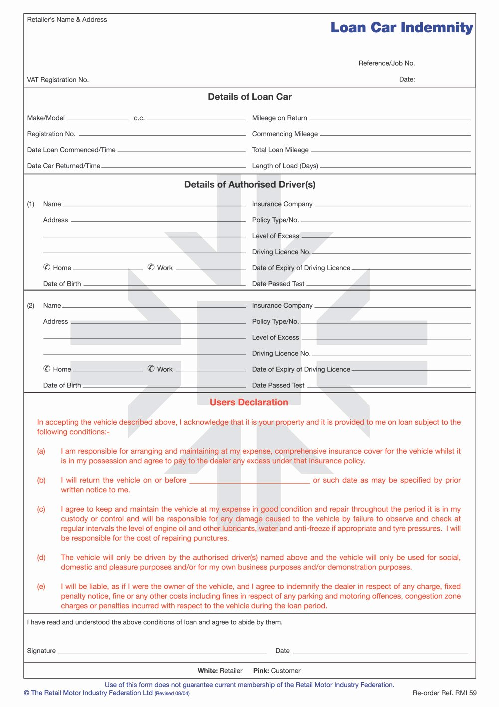 Car Loan Agreement Template Pdf Awesome Loan form Free Printable Documents