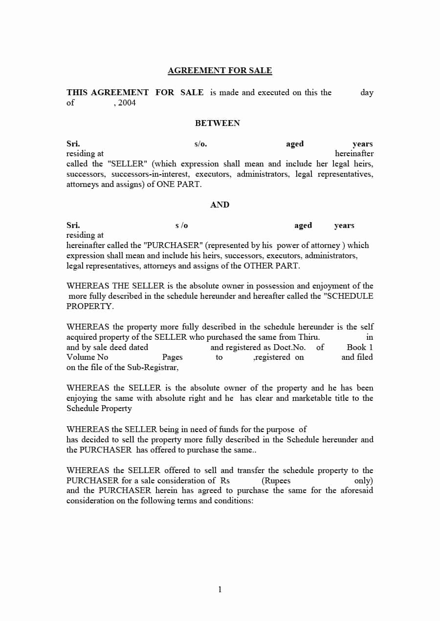 Car Purchase Agreement Template Unique 42 Printable Vehicle Purchase Agreement Templates