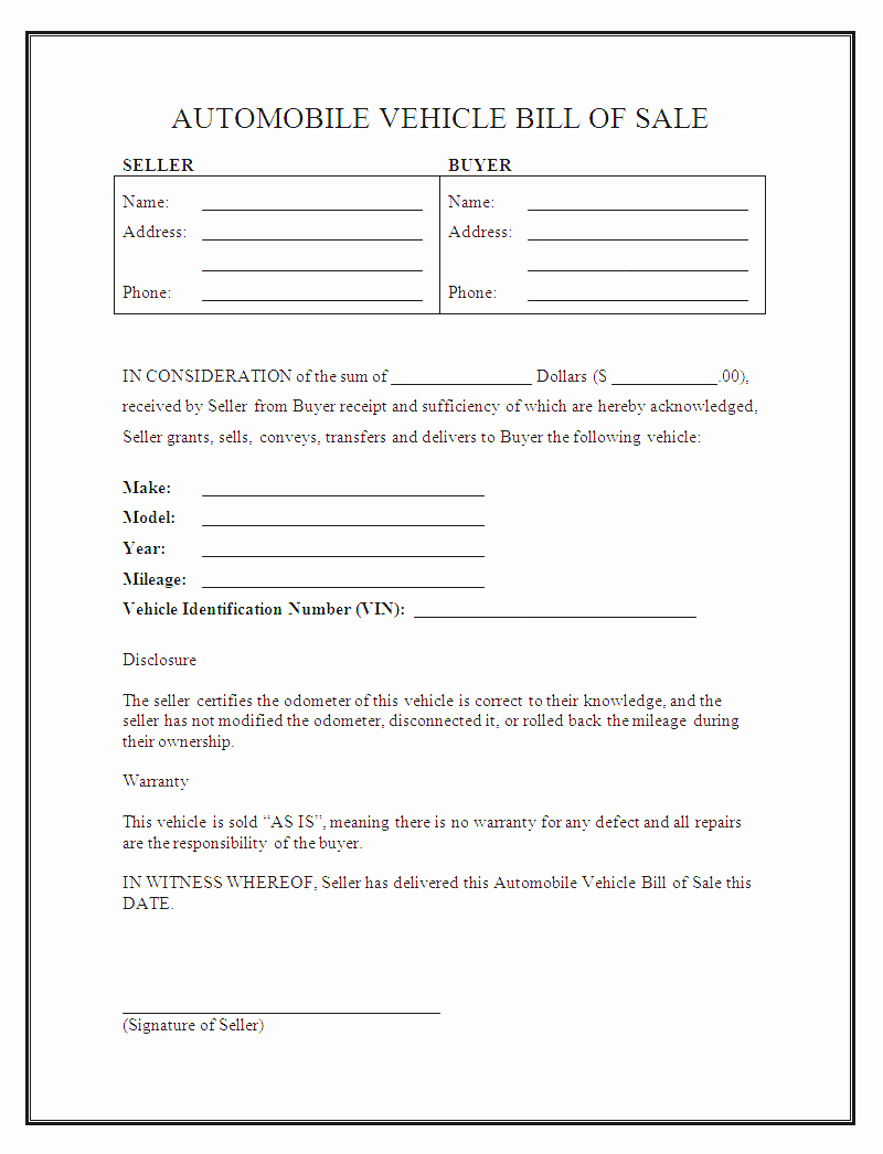 Car Sale Contract Template Lovely Selling A Car Payments Contract Template Examples Car