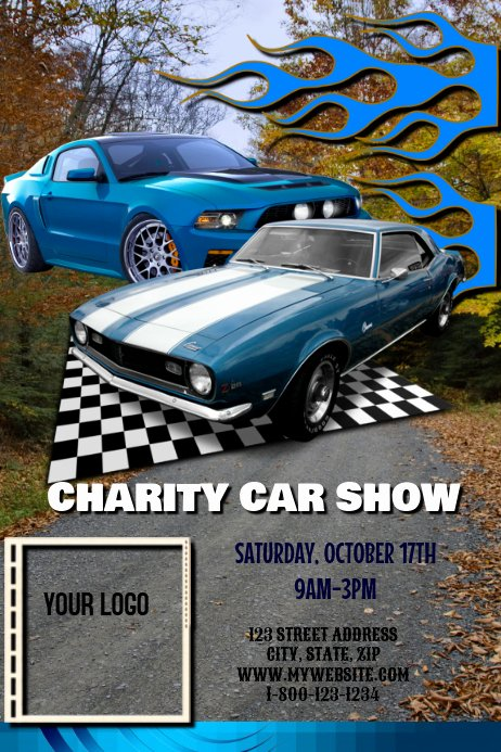 Car Show Flyer Template Free Beautiful Car Show Fundraiser Template