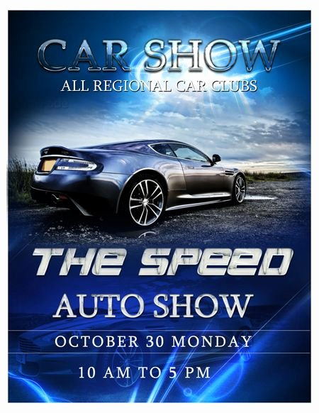 Car Show Flyer Template Free Best Of Car Show Flyer Template Auto Show Flyer Template Trendy