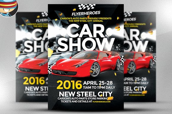 Car Show Flyer Template Free Fresh Free Editable Car Show Flyer Templates Designtube