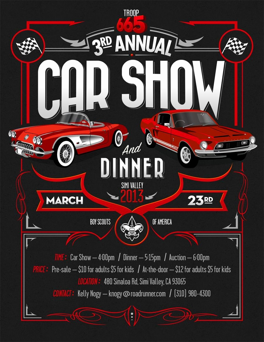 Car Show Flyer Template Free Inspirational Car Show Flyer Graphic Design Pinterest
