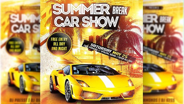 Car Show Flyer Template Free Luxury 19 Car Show Flyer Free & Premium Psd Ai Vector Eps