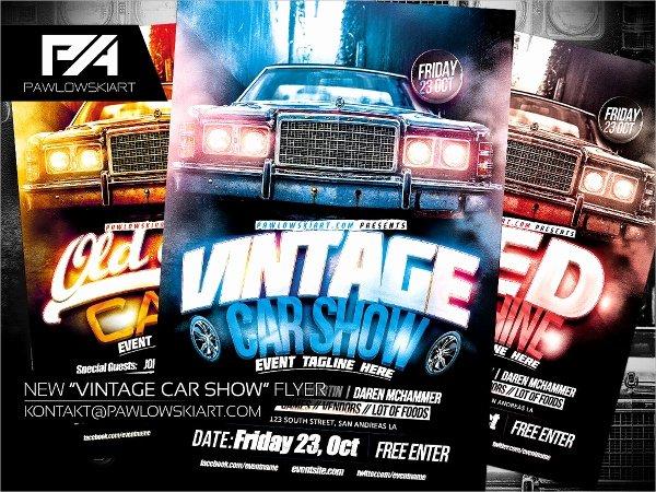 Car Show Flyer Template Free Luxury 22 Car Show Flyer Templates Ai Psd Docs