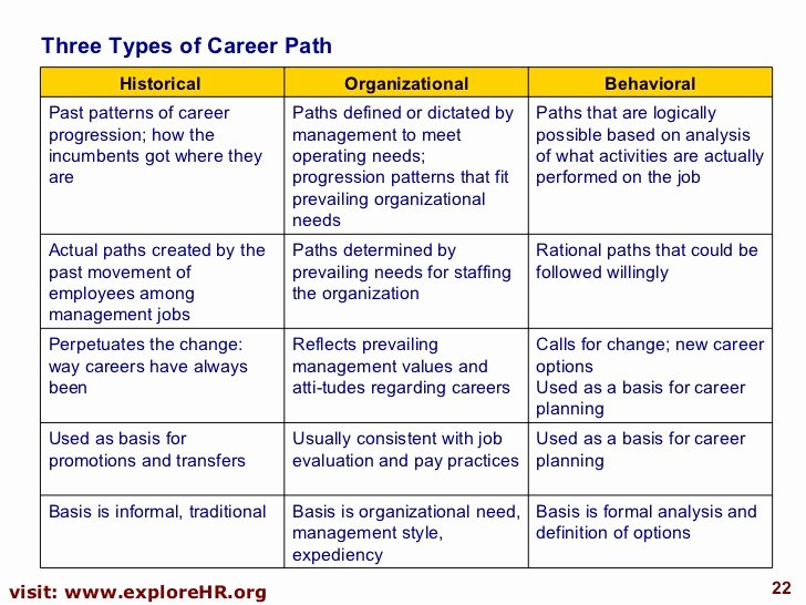 Career Path Planning Template Elegant Career Planning and Development