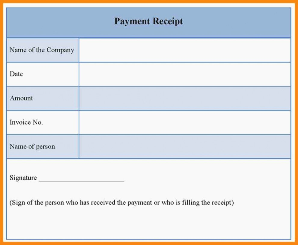 Cash Payment Receipt Template Beautiful This is why Free Printable