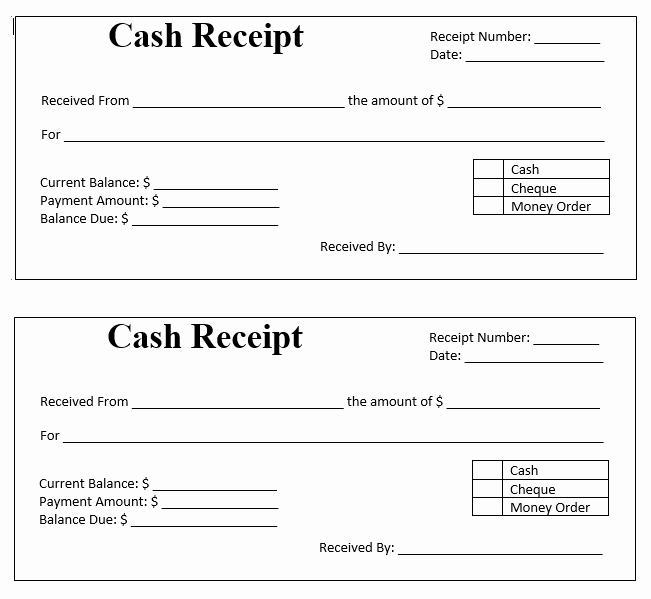 Cash Payment Receipt Template Luxury Cash Payment Receipt Stationary Templates