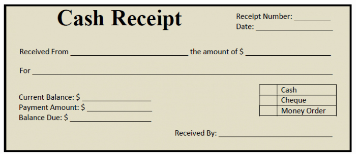 Cash Payment Receipt Template Unique 50 Free Receipt Templates Cash Sales Donation Taxi