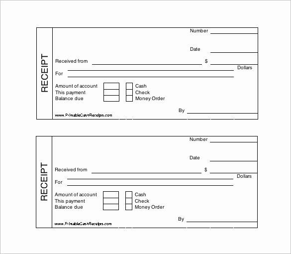 Cash Receipt Template Word Elegant Printable Cash Receipt Template Free Receipt Template