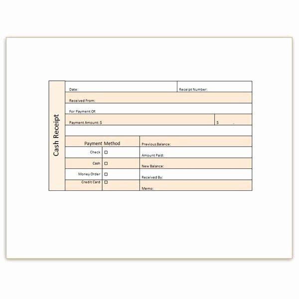 Cash Receipt Template Word Inspirational Download A Free Cash Receipt Template for Word or Excel