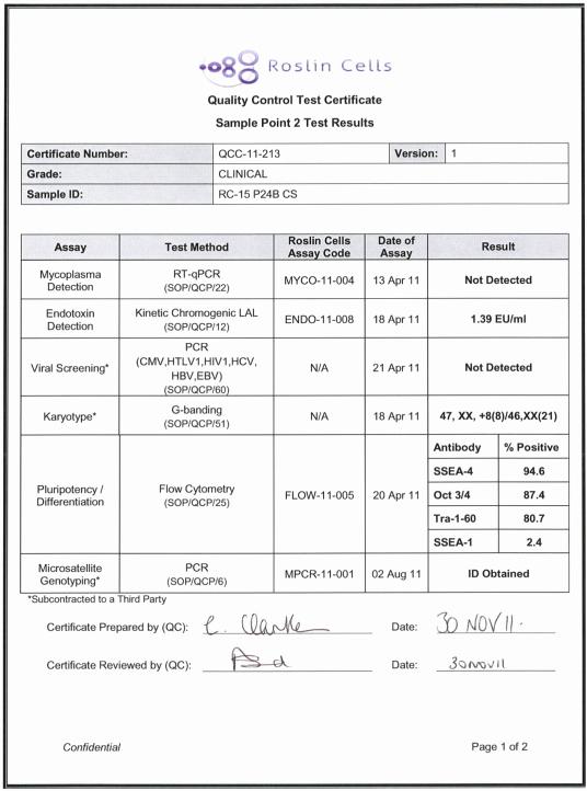 Certificate Of Analysis Template Beautiful Quality Control Certificate Of Analysis for Rce019 A Rc