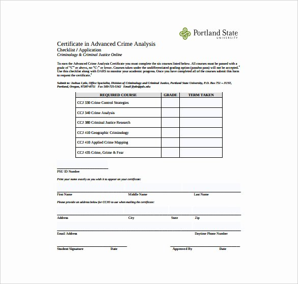 Certificate Of Analysis Template Best Of Free 11 Sample Certificate Of Analysis Templates In