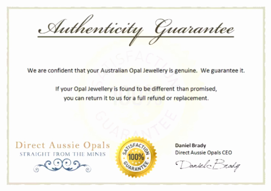 Certificate Of Authenticity Template Free Inspirational 5 Printable Certificate Of Authenticity Templates Doc
