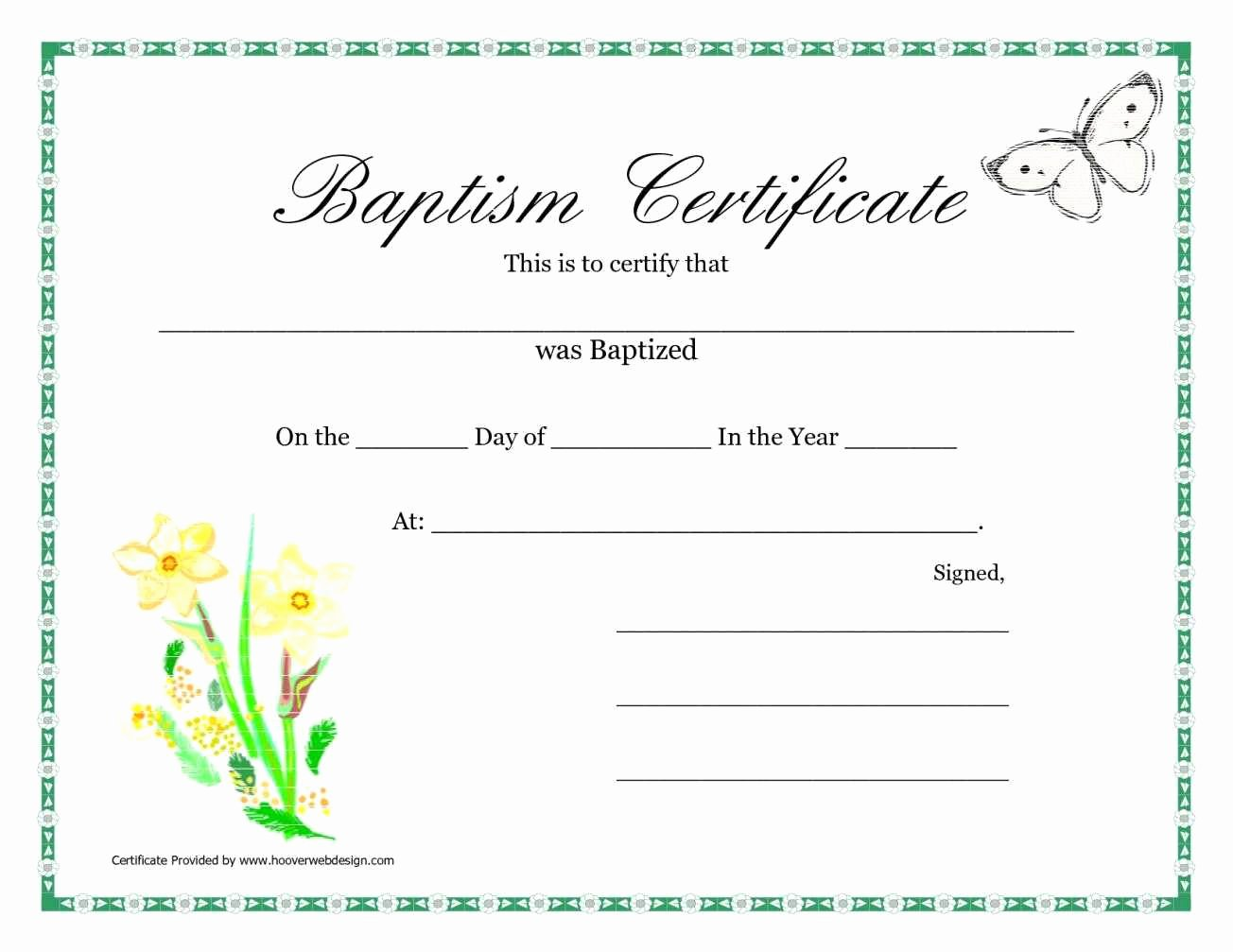 Certificate Of Baptism Template Awesome Sample Baptism Certificate Templates
