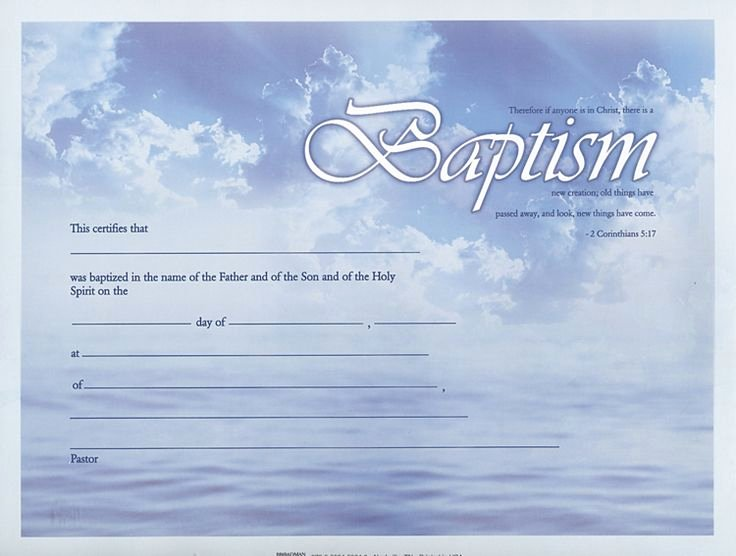 Certificate Of Baptism Template Best Of Baptism Certificate Google Search Baptism