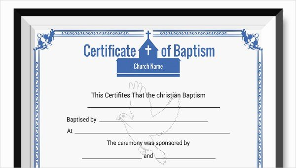 Certificate Of Baptism Template Best Of Jwcozdguq4ocu Zmjxij5brghj S412 within Free Editable