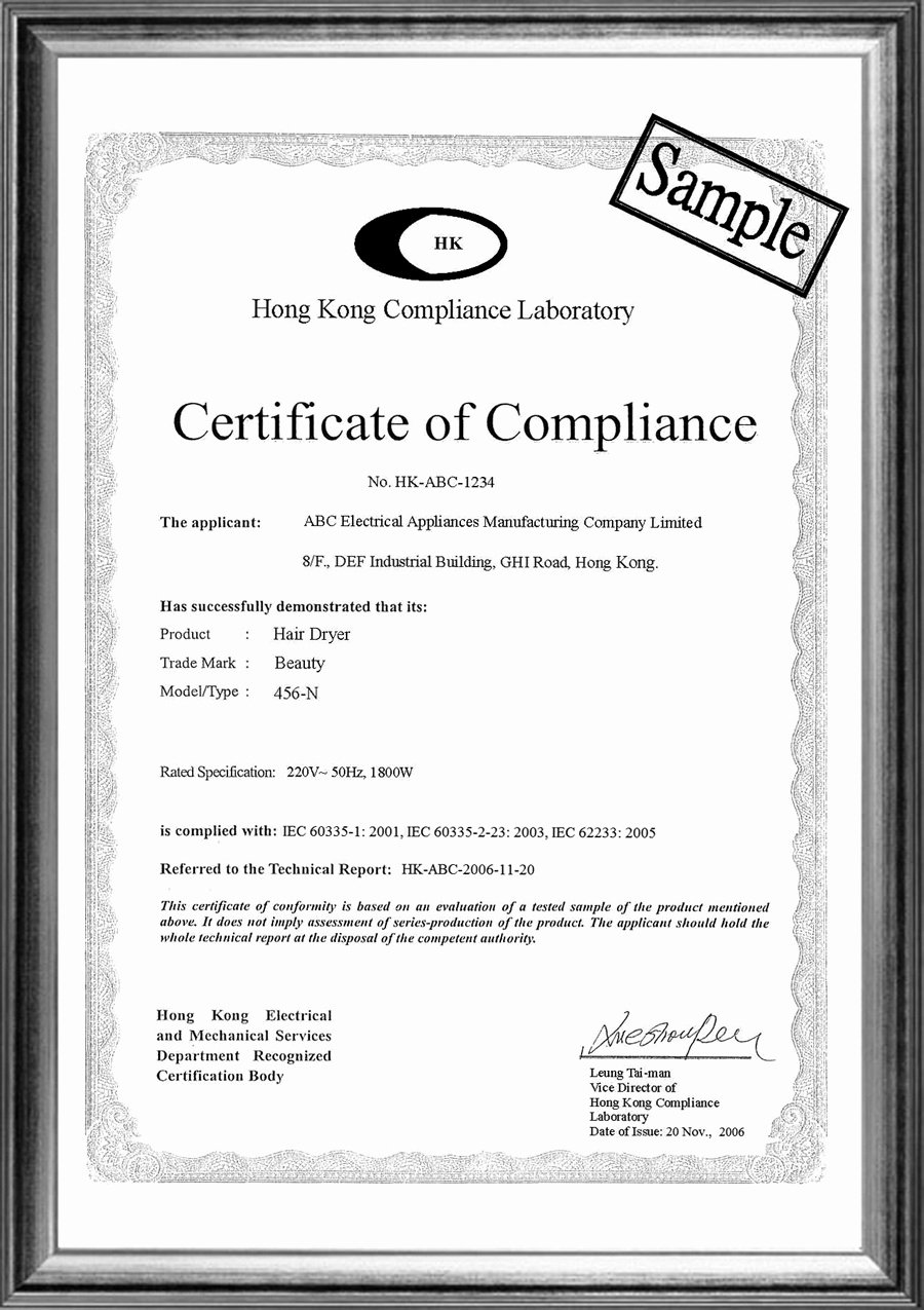 Certificate Of Compliance Template Lovely 15th issue October 2009 530