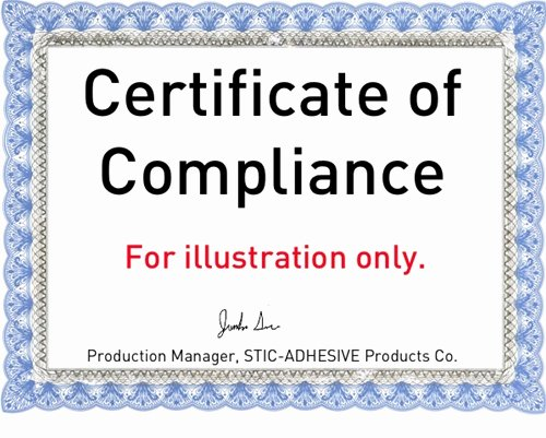 Certificate Of Compliance Template New Certificate Of Pliance