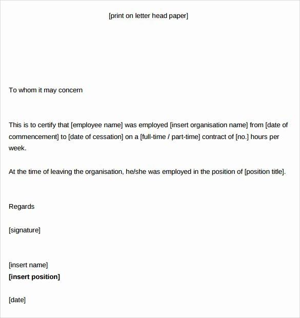 Certificate Of Service Template Unique Certificate Of Service Template 14 Download Documents