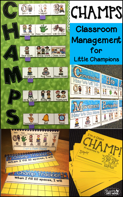 Champs Classroom Management Plan Template Inspirational Class Champs Classroom Management for Little Champions