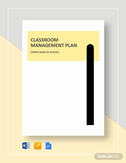 Champs Classroom Management Plan Template New 11 Classroom Management Plan Templates Free Pdf Word