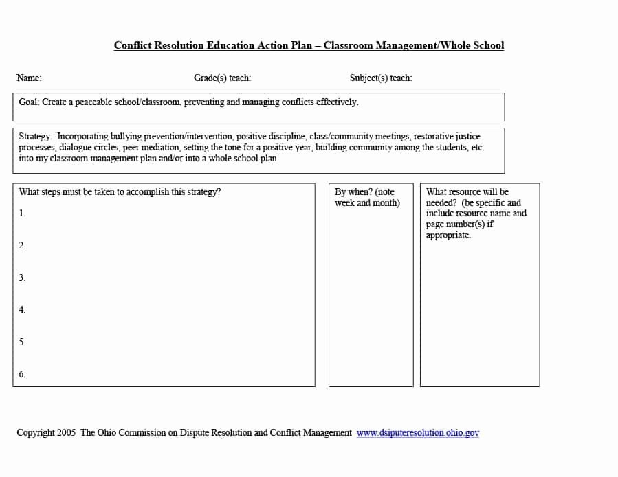 Champs Classroom Management Plan Template Unique Classroom Management Plan 38 Templates & Examples