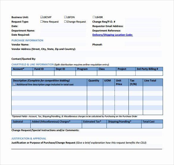Change order form Template Inspirational Sample Change order – 11 Documents In Pdf Word