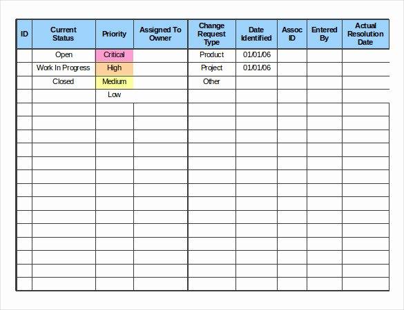 Change order Template Excel Elegant 24 Change order Templates Word Pdf Google Docs