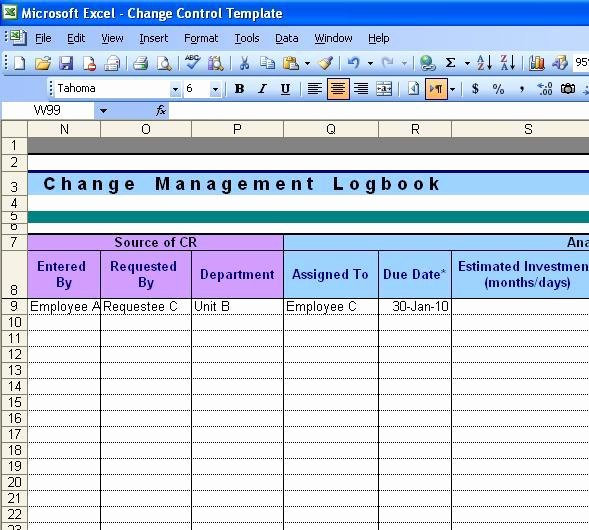 Change order Template Excel Lovely Free Download Change order Template Excel Free