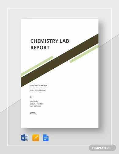 Chemistry Lab Report Template Beautiful 13 Lab Report Templates In Google Docs Word