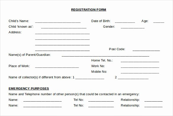 Child Medical Consent form Template Unique Sample Child Medical Consent form 5 Download Free