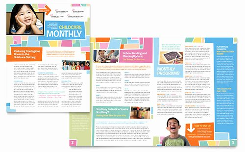 Church Bulletin Templates Microsoft Publisher New Education & Training Newsletters