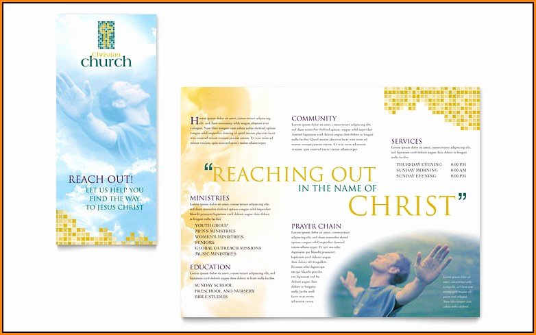 Church Bulletin Templates Microsoft Publisher New Free Church Bulletin Templates Microsoft Publisher
