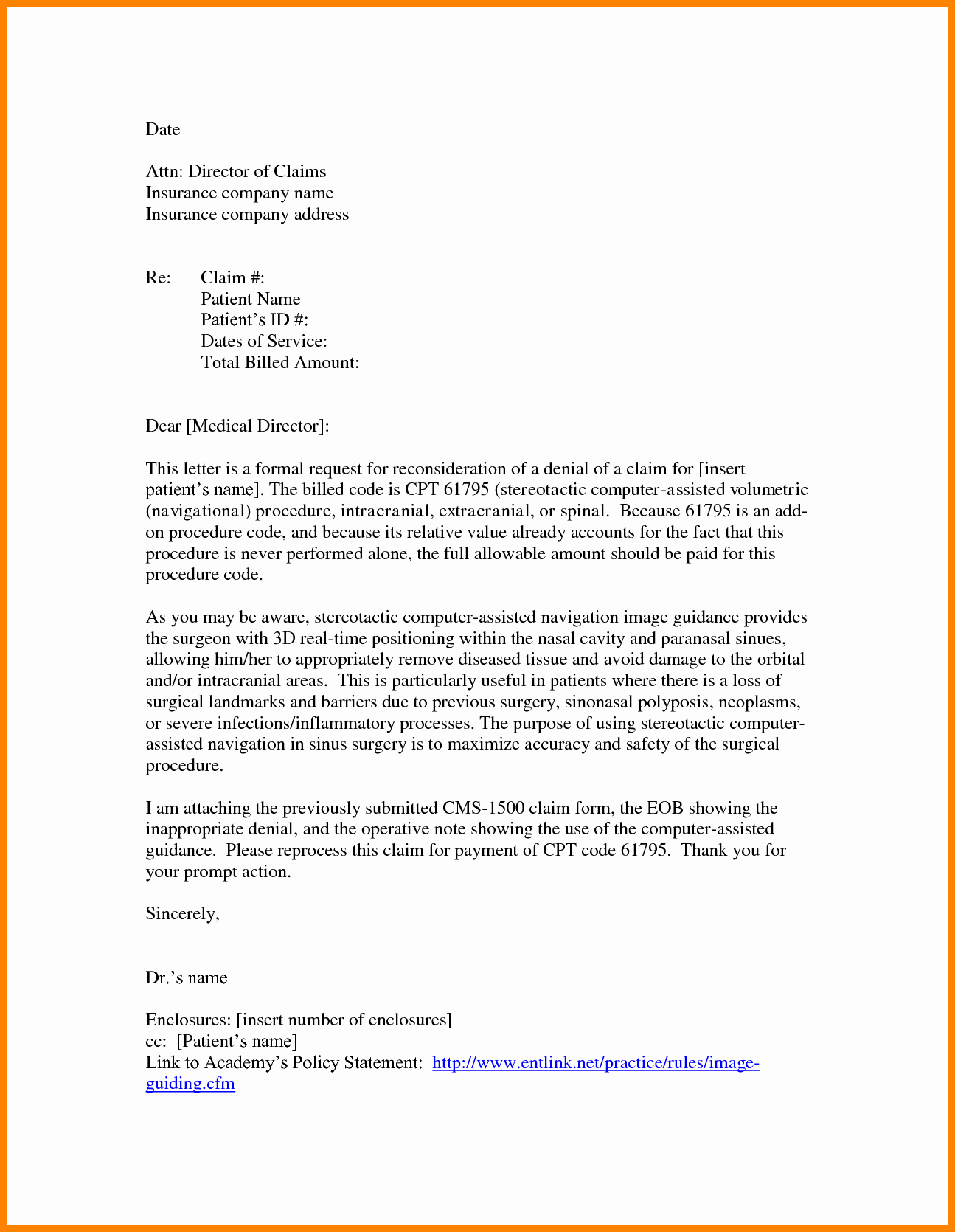 Claim Denial Letter Template Best Of 7 Example Of Claim Letters