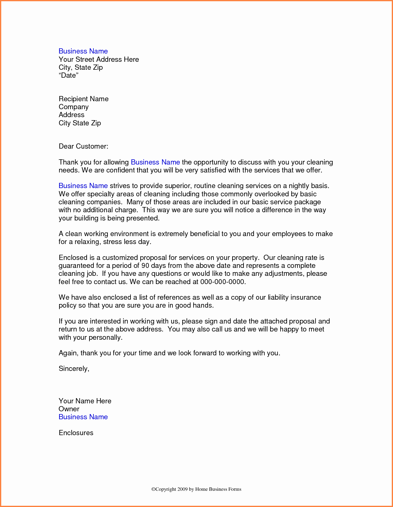 Cleaning Proposal Template Pdf Inspirational 13 How to Write A Business Proposal for A Cleaning