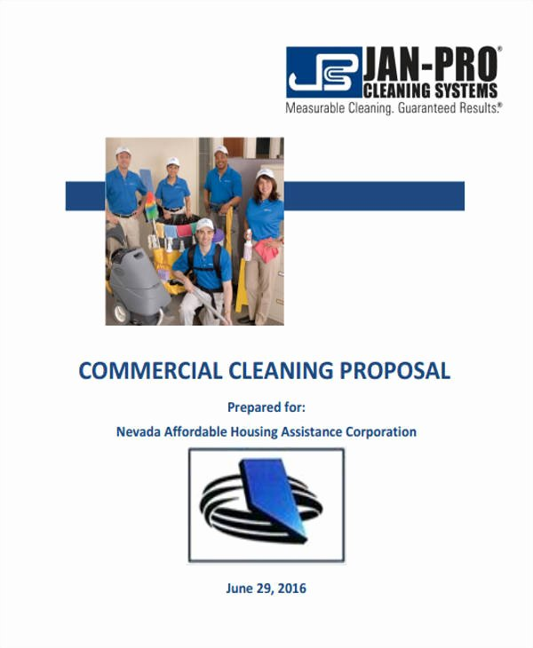 Cleaning Proposal Template Pdf Inspirational 17 Cleaning Proposal Templates Free Documents In Word Pdf