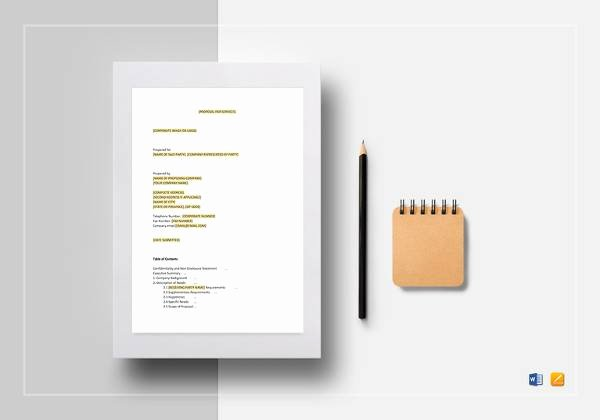 Cleaning Proposal Template Pdf Unique 17 Cleaning Proposal Templates Free Documents In Word Pdf